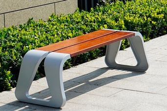 Contemporary Outdoor Benches