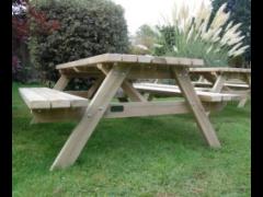 A-Frame Bench (Spruce Timber)