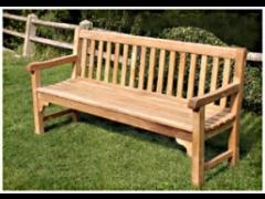 Bloomsbury Bench (Teak Timber)