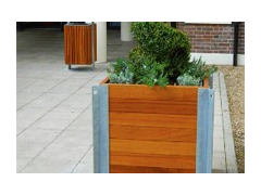 Urban Timber Street Planter