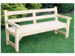 Greenwich Bench (Iroko Timber)