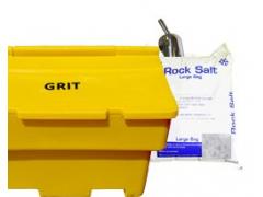 Grit Bin & Rock Salt Package