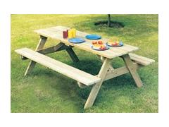 Pine Picnic Table (Pine Timber)