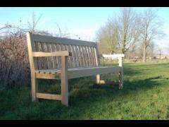 Poplar Bench (Iroko Timber)