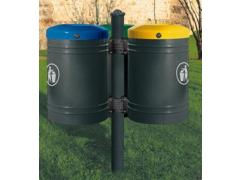 Outdoor recycling bin (3 bins)