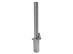 Removable Semi-Domed Top Stainless Steel Bollard (RS001)