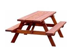 Woodland Picnic Table (Iroko Timber)