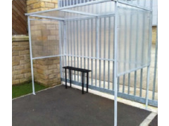 Value Open Fronted Smoking Shelter