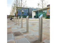 Mitre Top Stainless Steel Bollard (RS004)