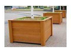 Premium Timber Street Planter