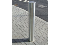 Semi-Domed Top Stainless Steel Bollard