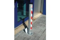 SS Removable Parking Post with integral lock