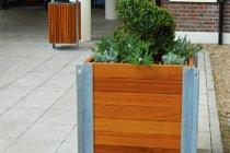 Urban Timber Street Planter