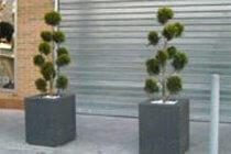 Anti-Ram Street Planter