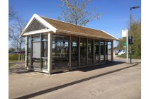 Bespoke Timber Bus Shelter