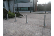 Thaw SS5 Stainless Steel Telescopic Bollard (90mm Dia)