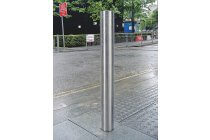 Flat Top Stainless Steel Bollard