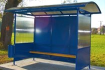 Anti-Vandal Ruby Bus Shelter