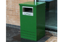 Urban Steel Litter Bin