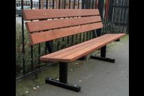 Urban Timber Slat Seat
