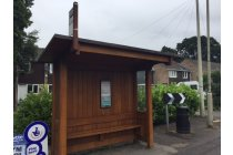 Heritage Wooden Bus Shelter