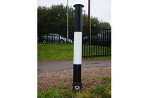 Round Removable Heavy Weight Bollard with Handles
