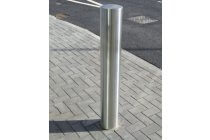 Semi-Domed Top Stainless Steel Bollard (RS001)
