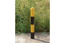 Removable Domed Top Round 114 Diameter Bollard