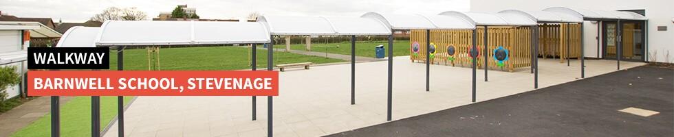 Walkway, Barnwell School, Stevenage