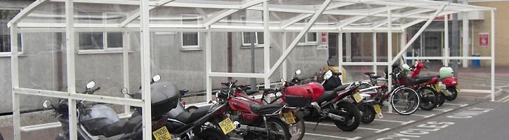 Motorbike Shelter