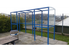 Four Sided Smoking Shelters