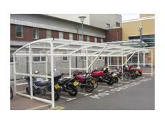 Prestige Motorbike Shelter