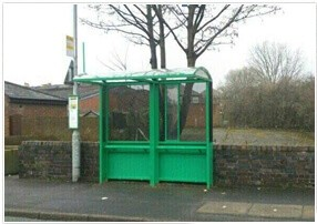 Halton Bus Shelter